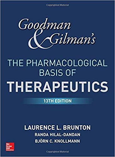 Goodman and Gilman's The Pharmacological Basis of Therapeutics, ۱۳th Edition ۲۰۱۸