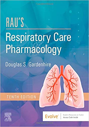 Rau's Respiratory Care Pharmacology ۱۰th Edition