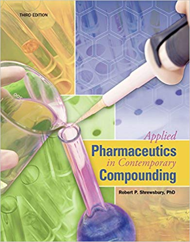 Applied Pharmaceutics in Contemporary Compounding ۳rd Edition