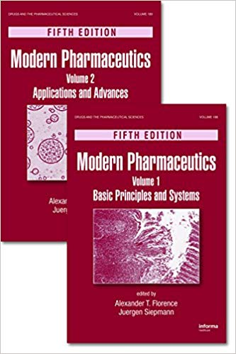 Modern Pharmaceutics, Two Volume Set - Drugs and the Pharmaceutical Sciences -۵th Edition