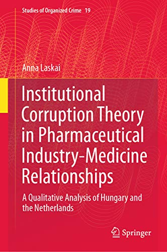 Institutional Corruption Theory in Pharmaceutical Industry-Medicine Relationships
