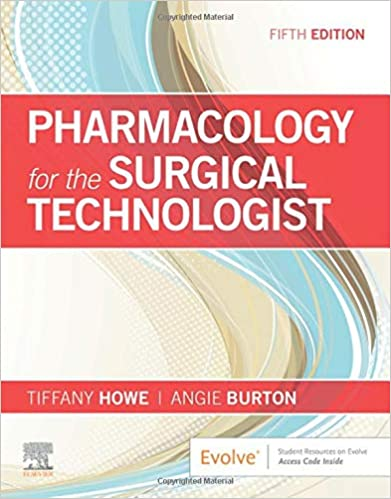 Pharmacology for the Surgical Technologist ۵th Edition