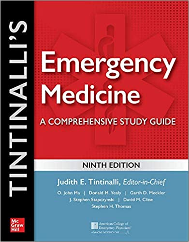Tintinalli's Emergency Medicine: A Comprehensive Study Guide, ۹th edition ۹th Edition