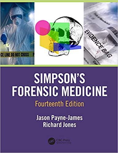 Simpson's Forensic Medicine, ۱۴th Edition Paperback – ۱۳ December ۲۰۱۹