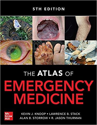 Atlas of Emergency Medicine ۵th Edition Hardcover , ۲۰۲۰